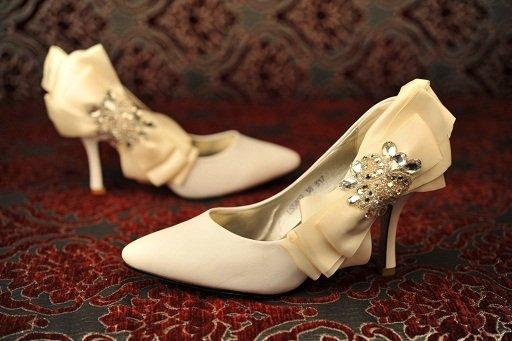 Туфли к свадьбе своими руками