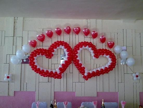 Фото как своими руками украсить зал для свадьбы своими руками 11