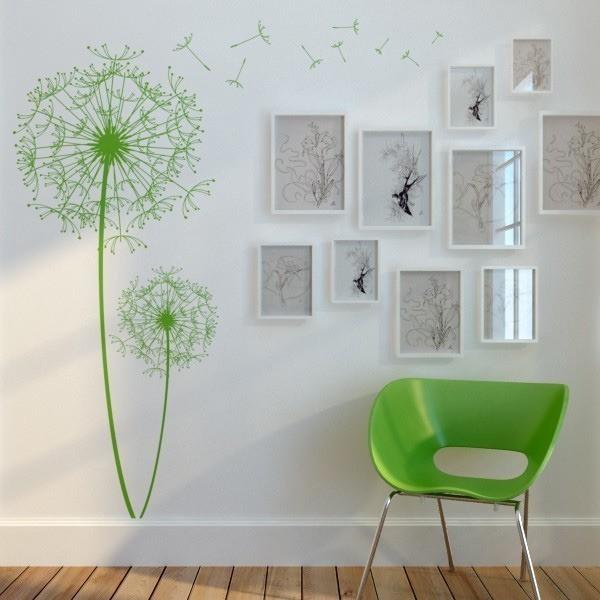 Как красиво оформить стены