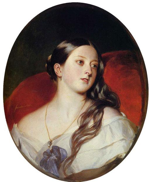 Молодая королева Виктория