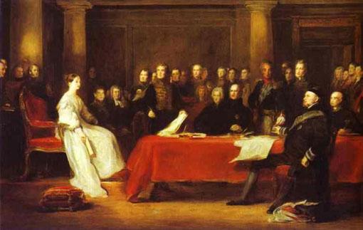 Выступление королевы Виктории