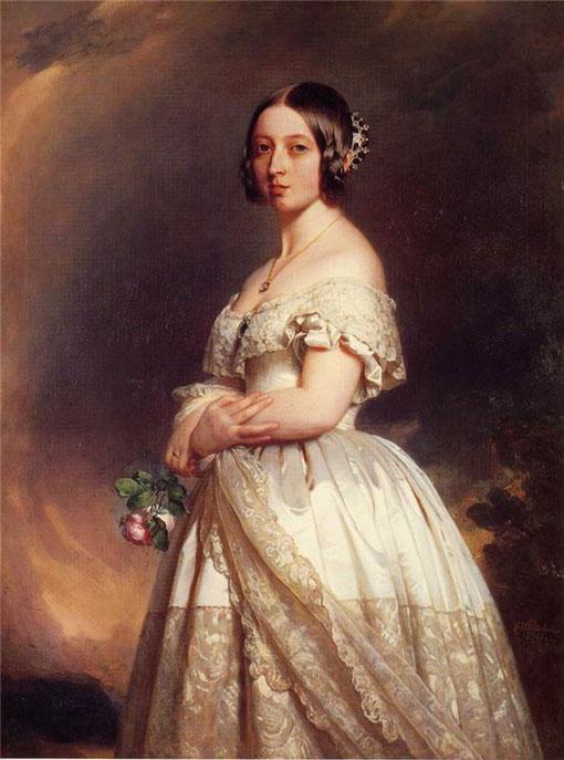 Свадебный наряд королевы Виктории