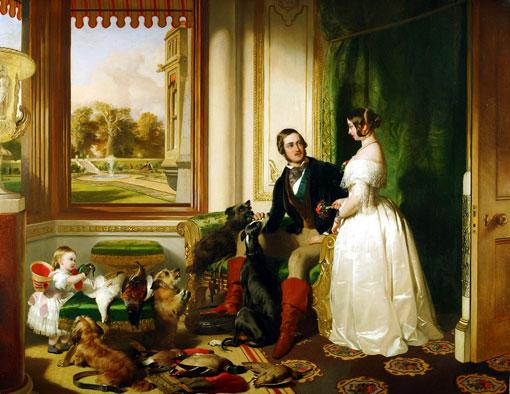 Королева Виктория и дочь Вики