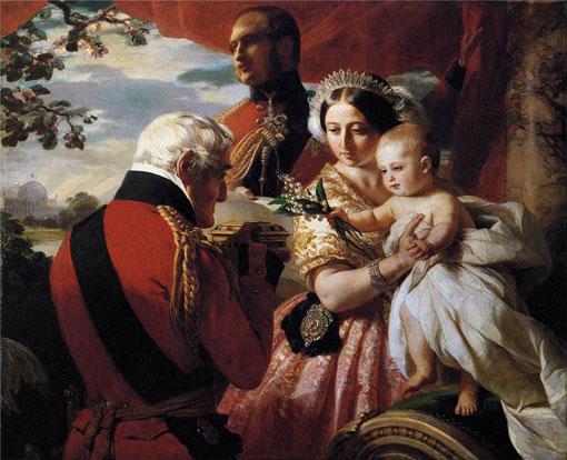 Королева Виктория с сыном