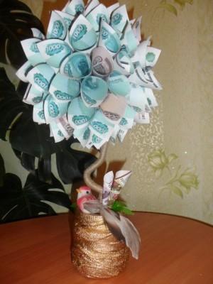 Подарок на свадьбу не из денег