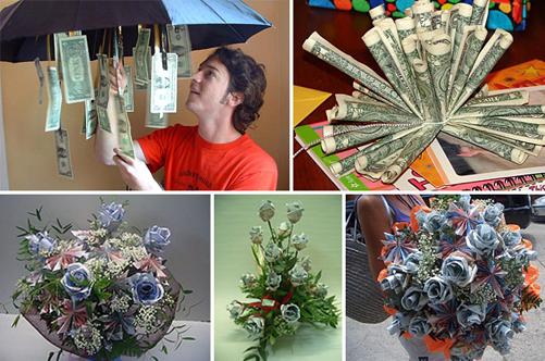 Подарки своими руками с деньгами