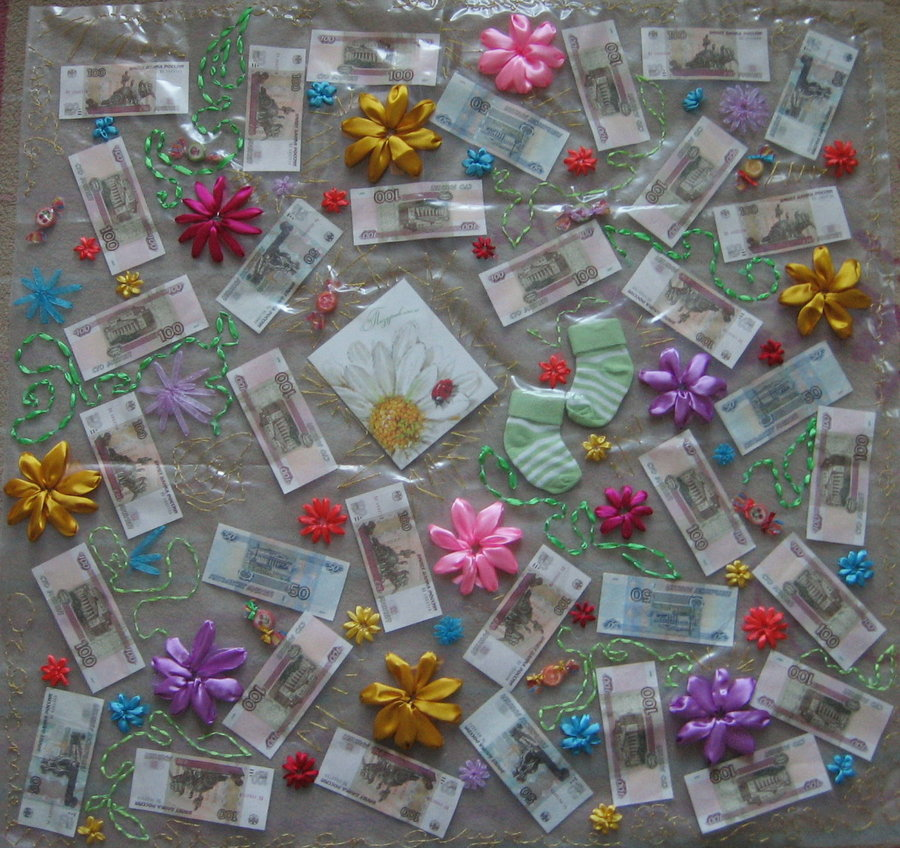 Свадебный подарок деньги на 25