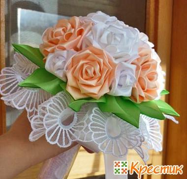 Как сделать букет невесте своими руками