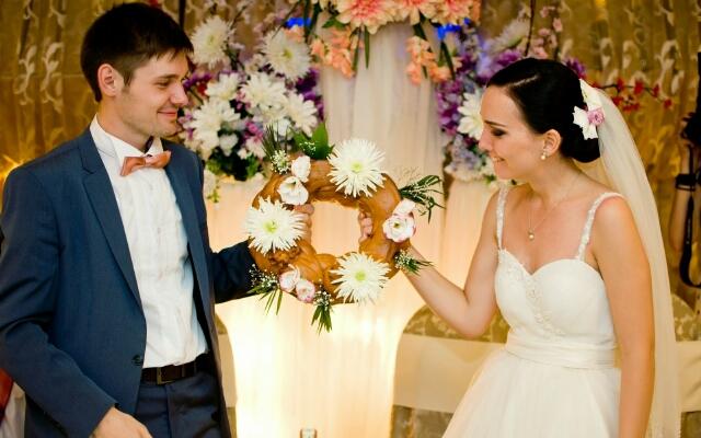 Сватовство невесты зимой видео