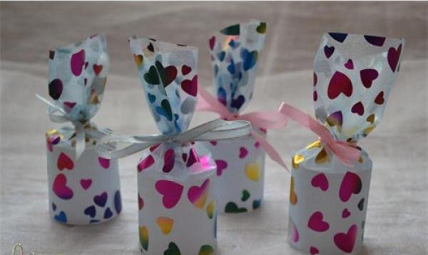 Бумажные подарочные мешочки своими руками