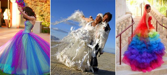 Необычные Платья На Свадьбу